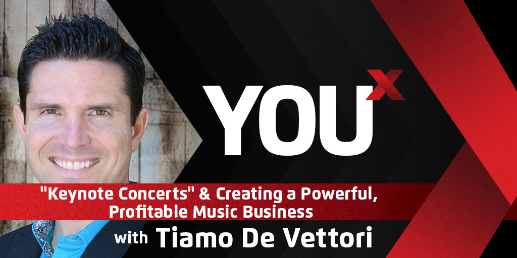 "Tiamo de Vettori on ""Keynote Concerts"" & Creating a Powerful, Profitable Music Business"