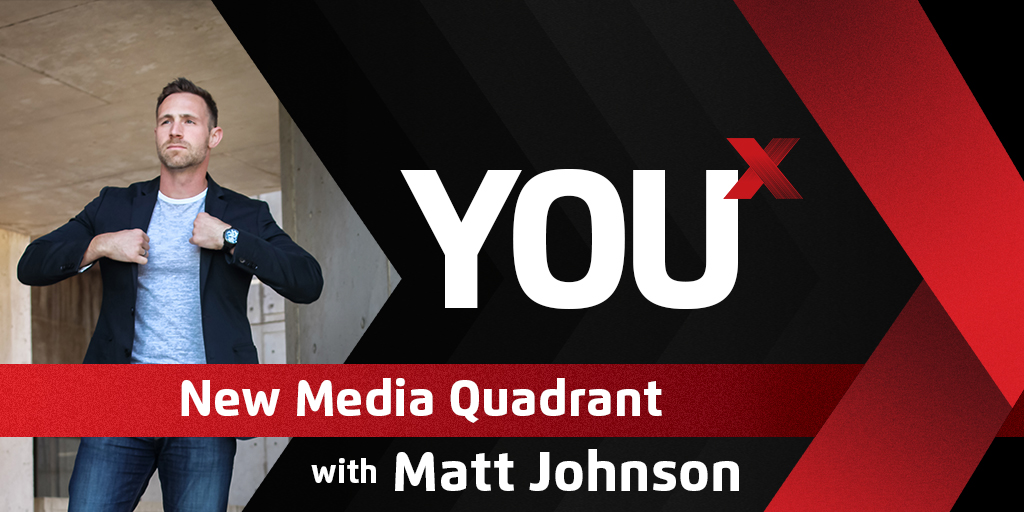 New Media Quadrant  | YouX Podcast 045