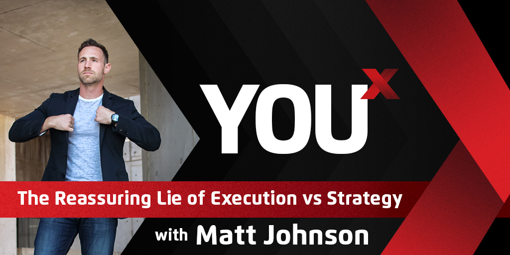 The Reassuring Lie of Execution vs Strategy