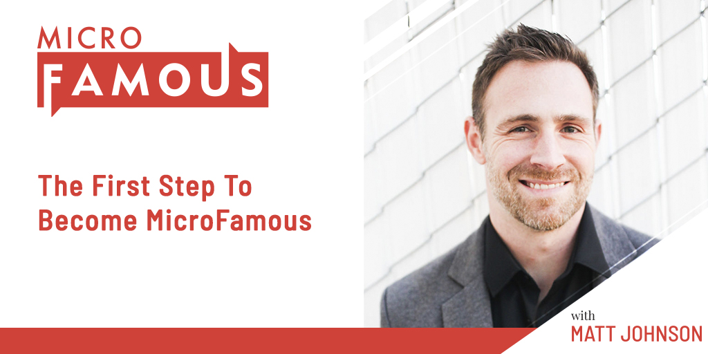 The First Step To Become MicroFamous