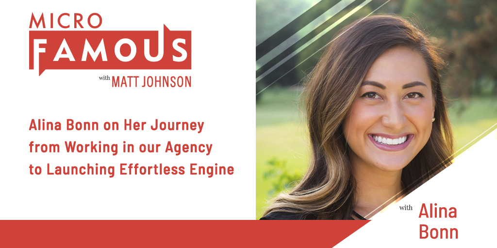 Alina Bonn on Her Journey from Working in our Agency to Launching Effortless Engine